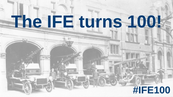 IFE turns 100 homepage banner
