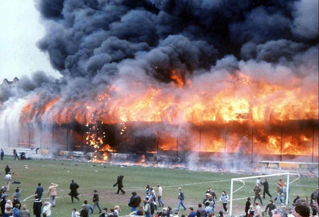 Bradford City Football Stand 1985