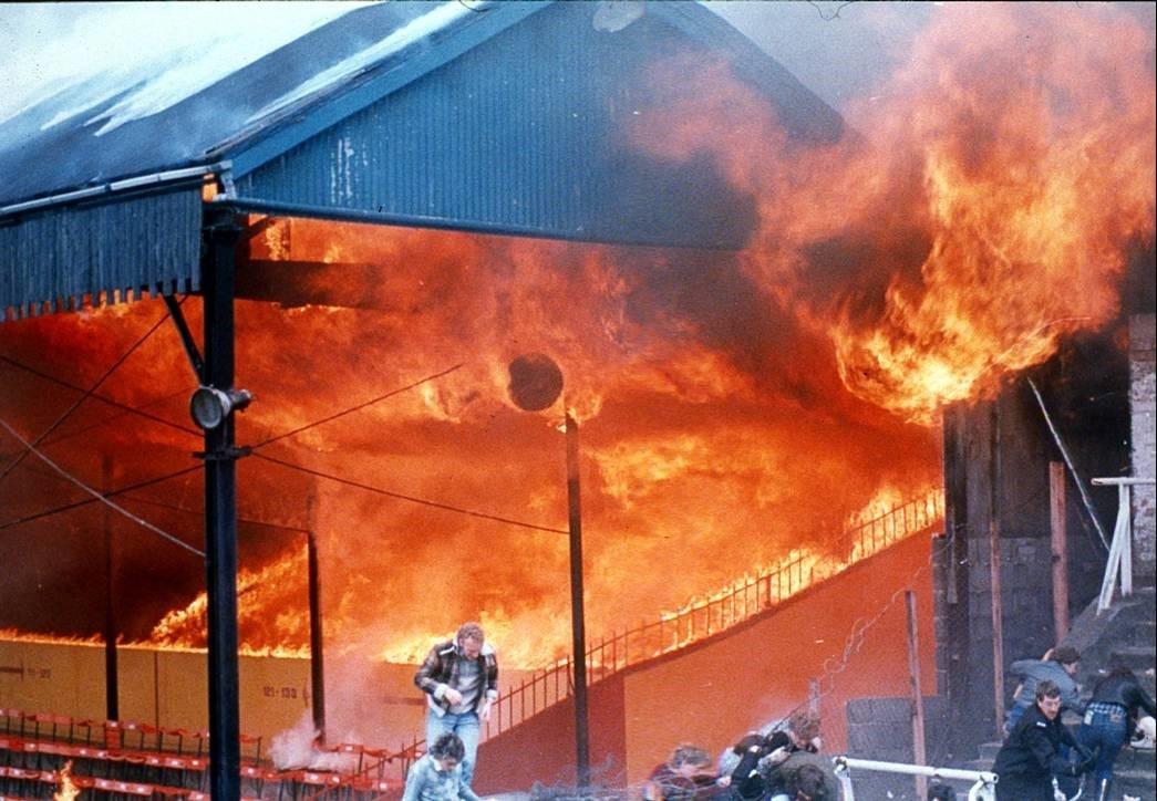 Bradford City Football Stand - 1985