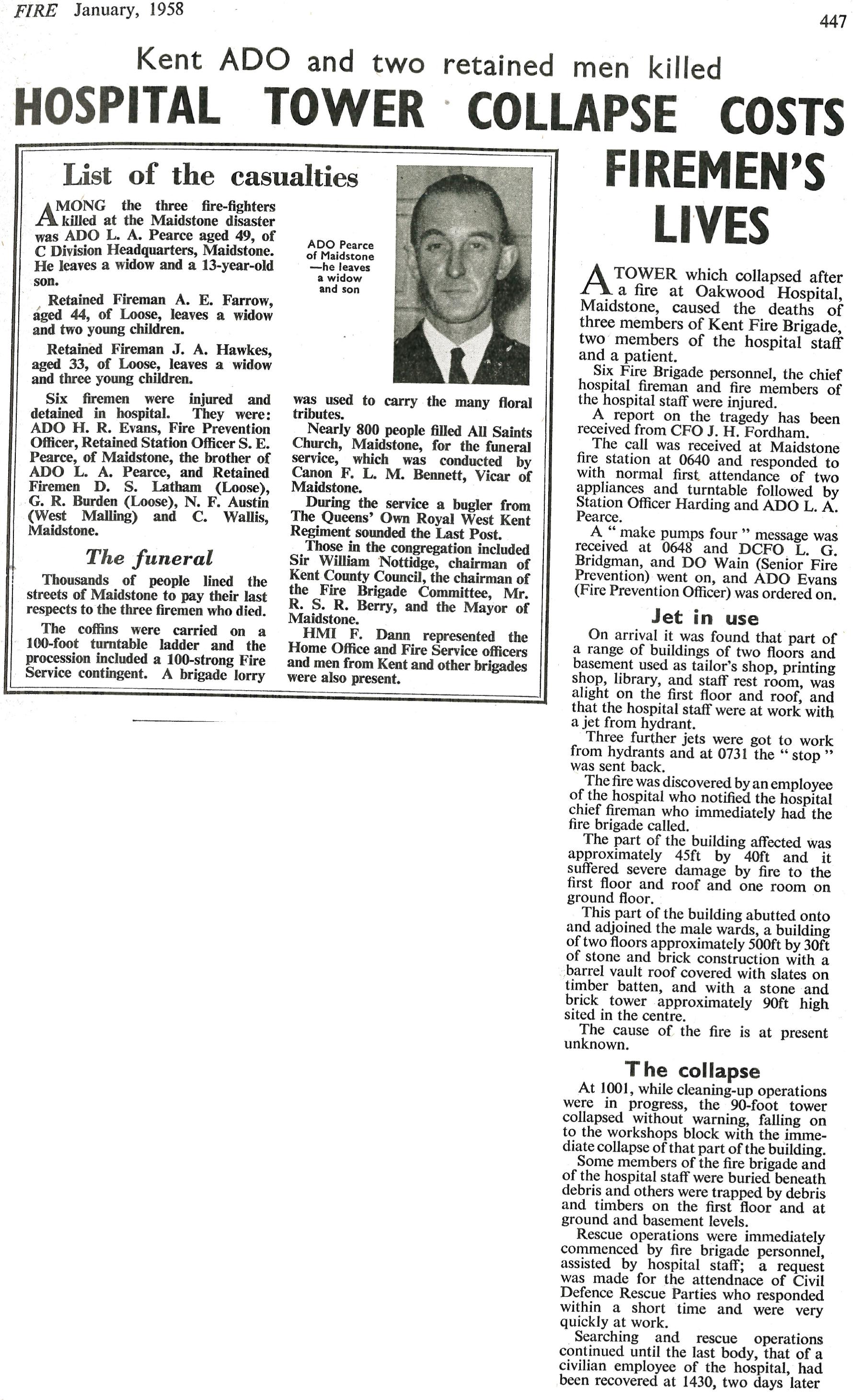 1957 - Oakwood Mental Hospital