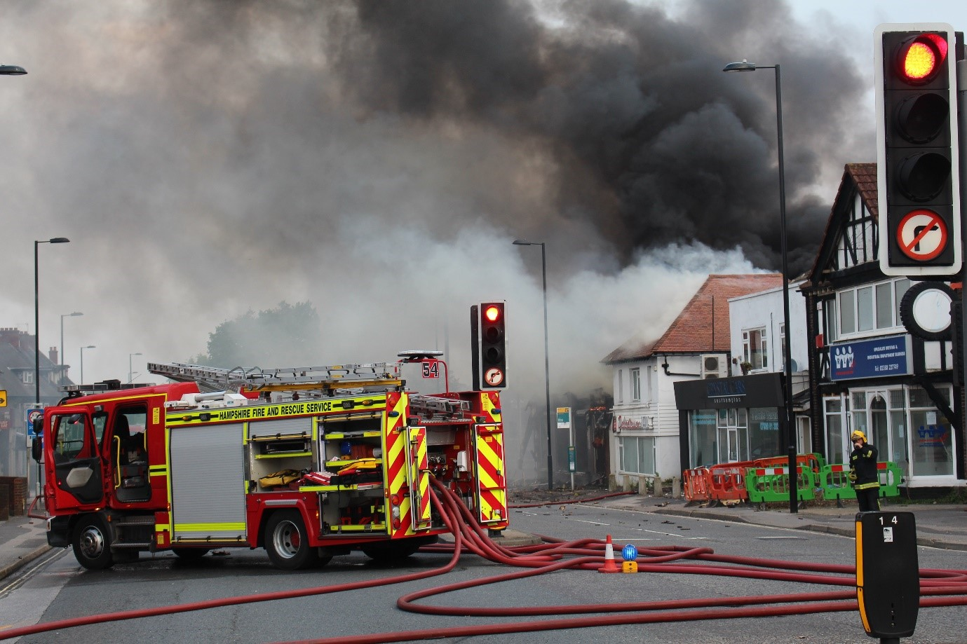 2016 The Flower Factory Fire Engines Diagram Traffic Cone Photos Taken By Hampshire And Rescue Service Hfrs Investigation Team Members Wm Andy Earl Or Robin Furniss With Thanks To Sm Damian Watts