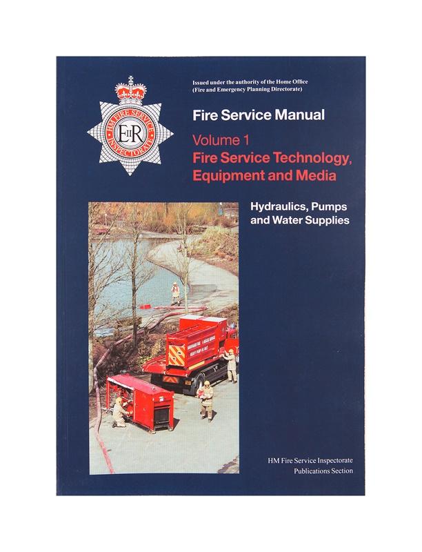 Fire Service Manual Volume 1 Fire Service Technical